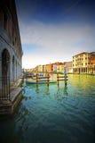 Grande canale. Fotografia Stock