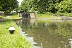 Grande canale del sindacato, Hertfordshire Regno Unito Fotografia Stock Libera da Diritti