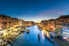 Grande canale di Venezia fotografia stock libera da diritti