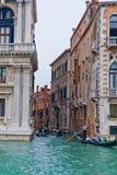 Grande canale di Venezia Immagini Stock Libere da Diritti