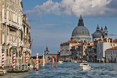 Grande canale di Venezia Fotografie Stock Libere da Diritti