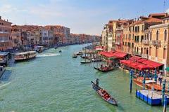 Grande canale di Venezia Immagini Stock