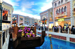 The Grande Canale Shopping Center Stock Images