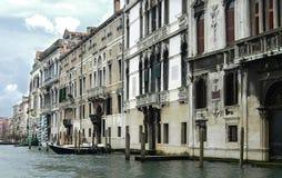 Grande canale a Venezia Fotografie Stock Libere da Diritti