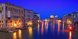Grande canale Venezia Fotografie Stock