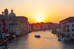 Grande canale Venezia immagine stock