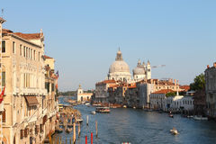 Grande canale a Venezia Immagine Stock
