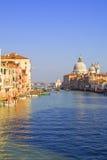 Grande canale a Venezia fotografia stock