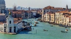 Grande canale a Venezia Immagine Stock Libera da Diritti