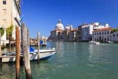 Grande canale a Venezia, Italia Immagini Stock Libere da Diritti