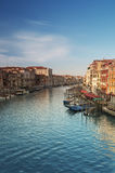 Grande canale, Venezia - Italia Fotografie Stock