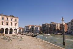 Grande canale a Venezia, Italia Immagini Stock