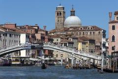 Grande canale - Venezia - Italia Immagini Stock