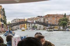 Grande canale a Venezia Italia fotografie stock