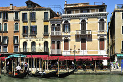 Grande Canale in Venice. Image was taken on June 2011 in Venice Stock Images