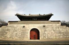Grande cancello asiatico fotografia stock