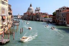 Grande Cannal Venezia, Italia Fotografia Stock