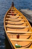 Grande canoa do explorador Imagem de Stock