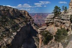 Grande canyon 2 Fotografia Stock Libera da Diritti
