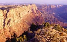 Grande canyon al crepuscolo Fotografie Stock Libere da Diritti