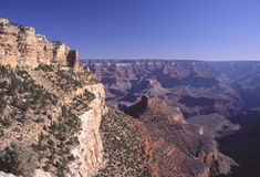 Grande canyon dall'orlo del sud Fotografie Stock