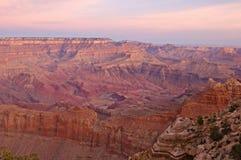 Grande canyon dell'orlo del sud Fotografia Stock Libera da Diritti