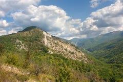 Grande canyon della Crimea Fotografia Stock
