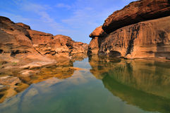 Grande canyon della Sam-Vaschetta-Bok Immagine Stock Libera da Diritti