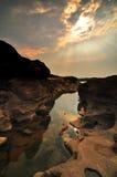 Grande canyon della Sam-Vaschetta-Bok Fotografia Stock Libera da Diritti