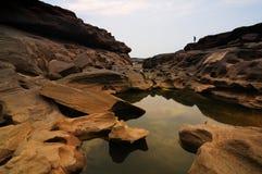 Grande canyon della Sam-Vaschetta-Bok Fotografie Stock Libere da Diritti