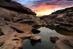 Grande canyon della Sam-Vaschetta-Bok Immagini Stock Libere da Diritti