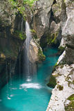 Grande canyon di Soca Immagine Stock Libera da Diritti