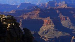 Grande canyon di tramonto Fotografia Stock Libera da Diritti