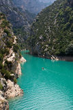 Grande canyon du Verdon Immagine Stock