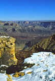 Grande canyon nella caduta Fotografie Stock Libere da Diritti