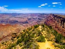Grande canyon, orlo del sud Fotografia Stock Libera da Diritti