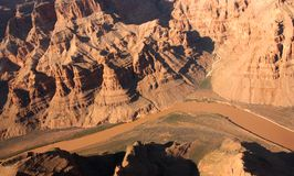 Grande canyon S.U.A. Fotografia Stock