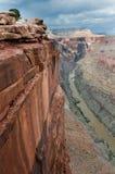 Grande canyon a Toroweap Fotografie Stock Libere da Diritti