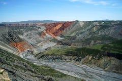 Grande canyon variopinto Fotografia Stock Libera da Diritti