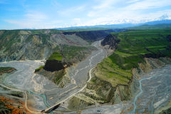 Grande canyon variopinto Immagine Stock