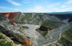 Grande canyon variopinto Fotografie Stock Libere da Diritti