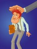 Grande capo della mano royalty illustrazione gratis