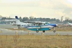 Grande caravan del Cessna 208 Immagini Stock Libere da Diritti