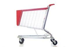 Grande carrello di acquisto rosso immagini stock libere da diritti