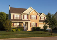 Grande casa Fotografia de Stock Royalty Free