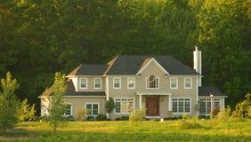 Grande casa Immagine Stock