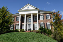 Grande casa americana Fotografie Stock