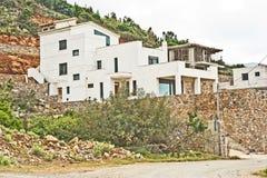Grande casa in costruzione. Immagini Stock Libere da Diritti
