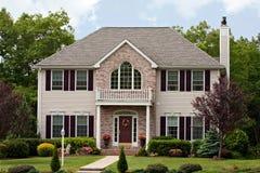 Grande casa luxuosa Imagens de Stock Royalty Free