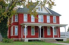 Grande casa rossa 18 Fotografie Stock